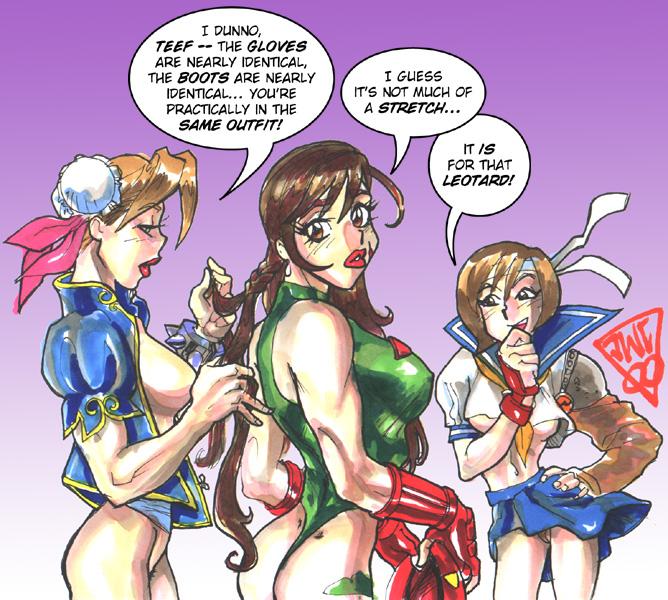 aeris nude and Tifa