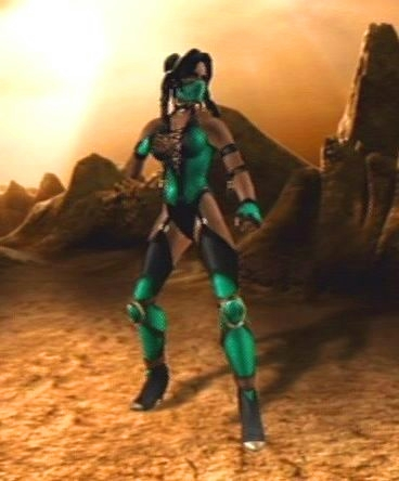 Mortal kombat jade alternate costume